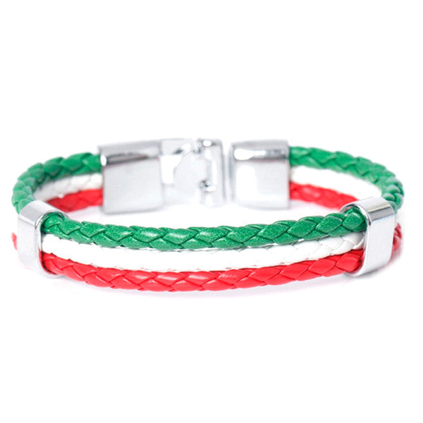 Team Italy Leather Unisex Bracelet