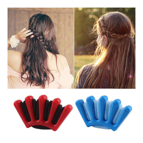Sponge Hair Plait Braider Quick French Twist Styling Braiding Tool