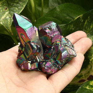 Natural Crystal Aura Quartz