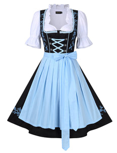 Halloween Oktoberfest Traditional Dirndl Dress