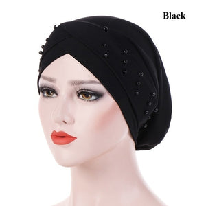 Turban Head Wrap Cap Women's