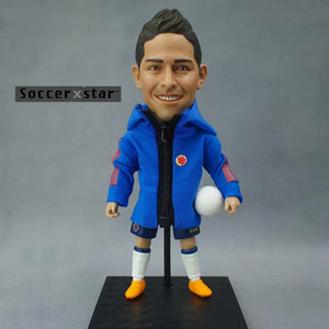 Soccerxstar Figurine Football Player Movable Dolls