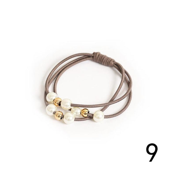 South Korea Simple Multi layer Hair Ring