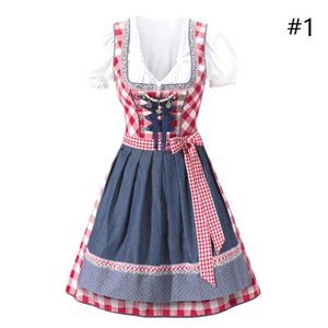 Women Traditional German Club Dresses Bavaria Oktoberfest Costume