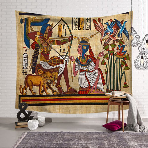 Ancient Egypt Wall Hanging Tapestry Home Decor