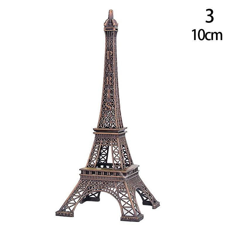 Eiffel Tower Paris France Metal Stand Model For Table Decor