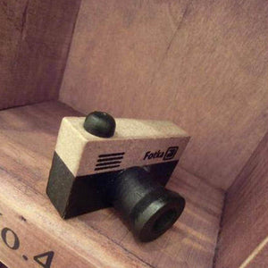 Model Korea Wooden Retro Camera Rubber
