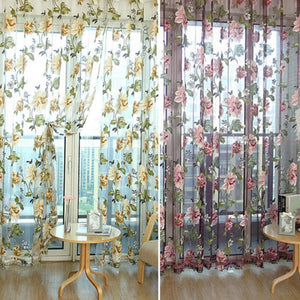 Sheer Voile  Curtain Panel