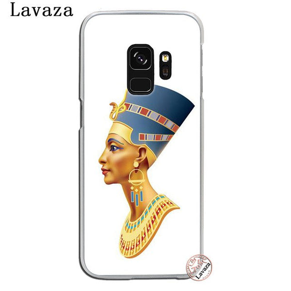 Lavaza Egypt Nefertiti Anubis Ankh Pharaoh Phone Shell Case