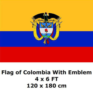 Colombian Flags And Banners National Flag Country Banner