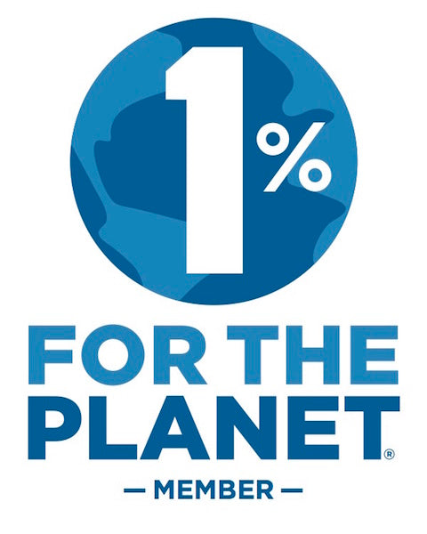 We are a proud member of 1% for the Planet. 1% for the Planet has helped to direct hundreds of millions of dollars to environmental nonprofits. 1% ftp is a network of like-minded companies working together toward a common goal: protecting the enviroment
