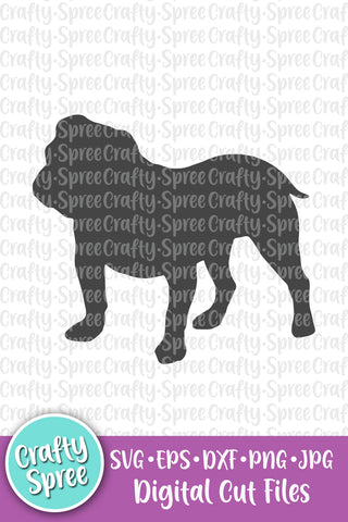 Bulldog SVG DXF Sublimation Design Cutting File
