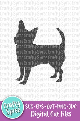 Chihuahua SVG DXF Sublimation Design Cutting File
