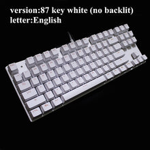 Load image into Gallery viewer, ME TOO  Edition Mechanical Keyboard 87 & 104 keys, Blue, Red, and Black Switch Gaming Keyboard