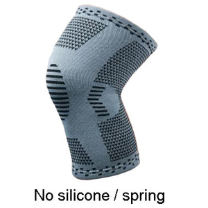 Elastic Silicone Spring Knee Support