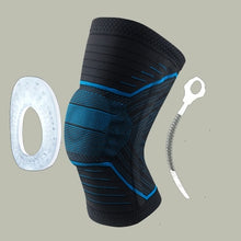 Load image into Gallery viewer, Elastic Silicone Spring Knee Support