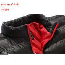Load image into Gallery viewer, Winter Men's Duck Down Jacket