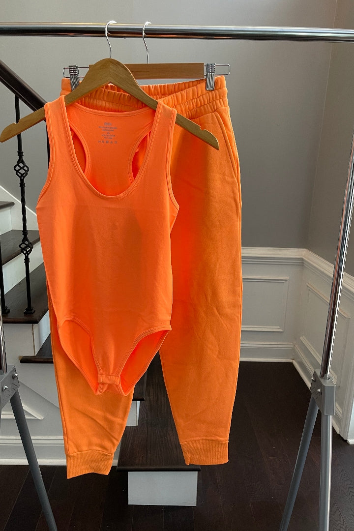 Everyday Jogger Set -Bright Orange