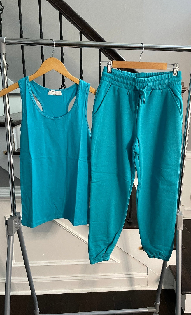 Everyday Jogger Set -Turquoise
