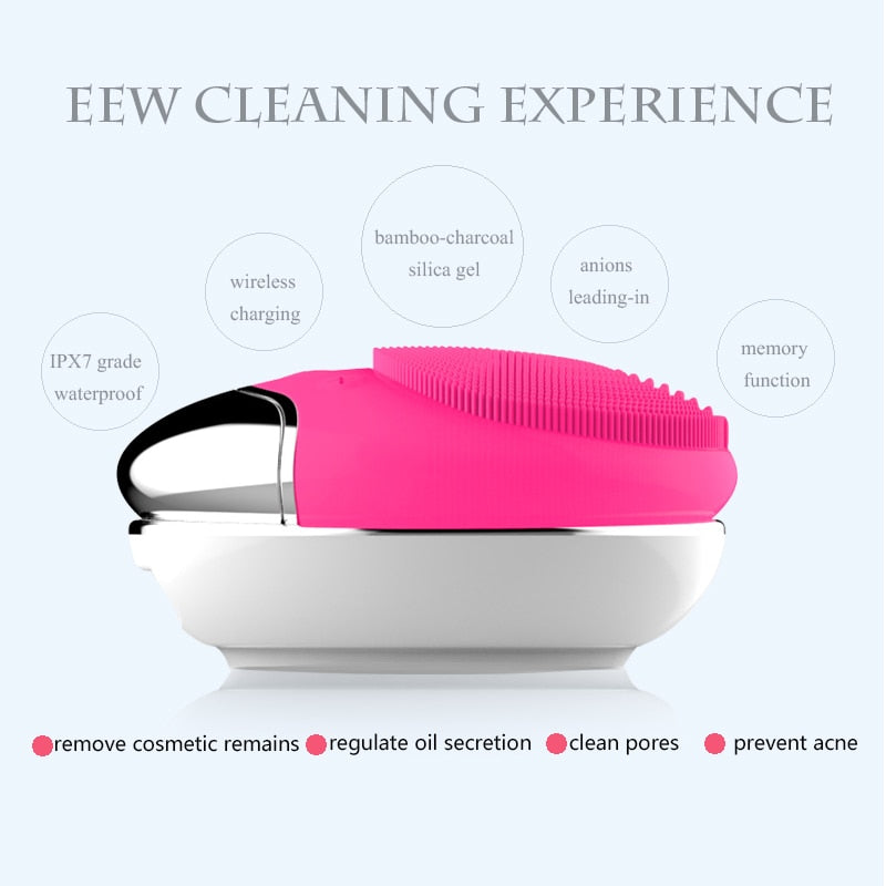 Electric Deep Cleaning Face Scrubber