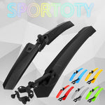 1Pair Bicycle Fenders Cycling MTB Quick Release Front Rear Road Mountain Bike Mudguard Set