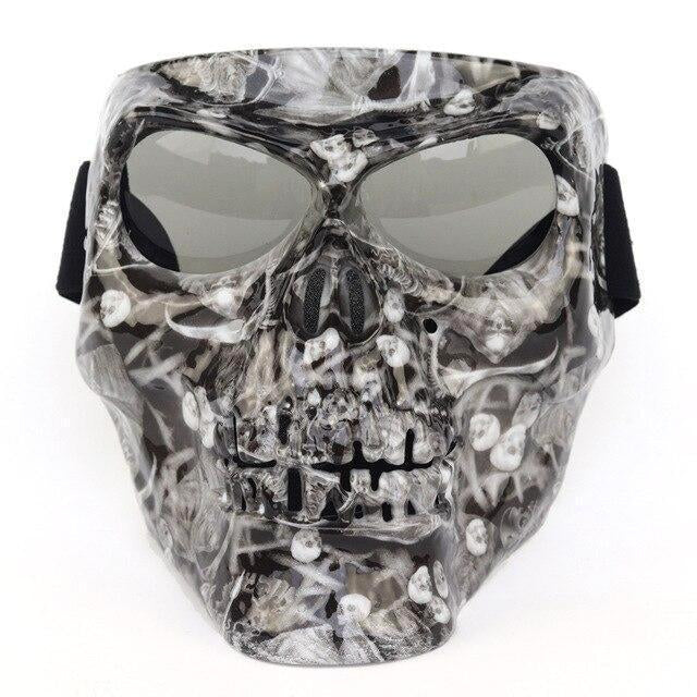 Premium Full Face Motorcycle Skull Face Mask