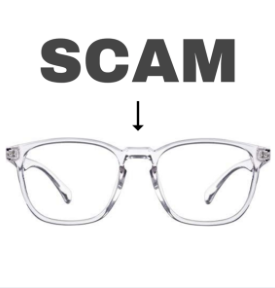 Blue blocker bullsh*t - clear lenses, scam?