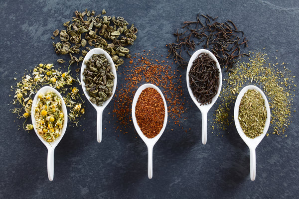 The 6 Types of Tea