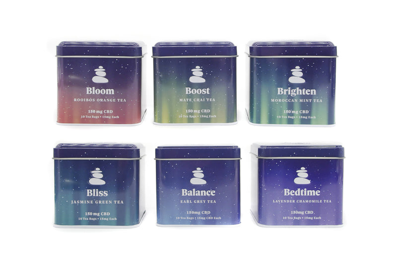 Bunch - Lagom Teas Variety Set - 900mg CBD