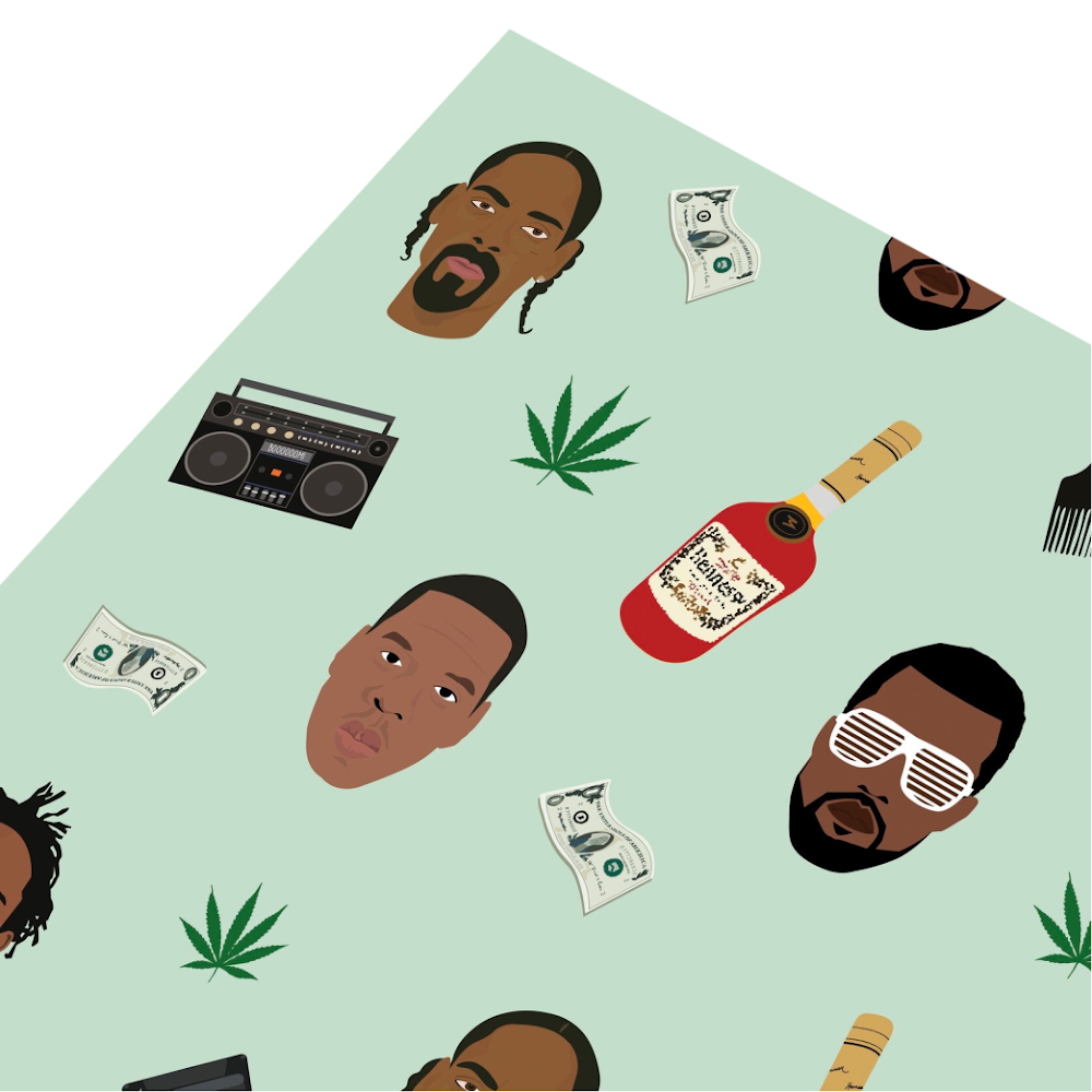Hip Hop Wrapping Paper