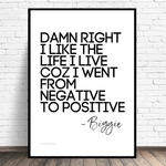 Biggie Quote Poster