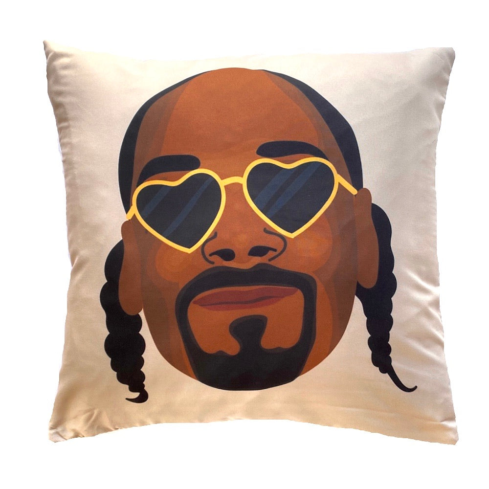 Snoop Dogg (Heart eyes) - Cushion Cover
