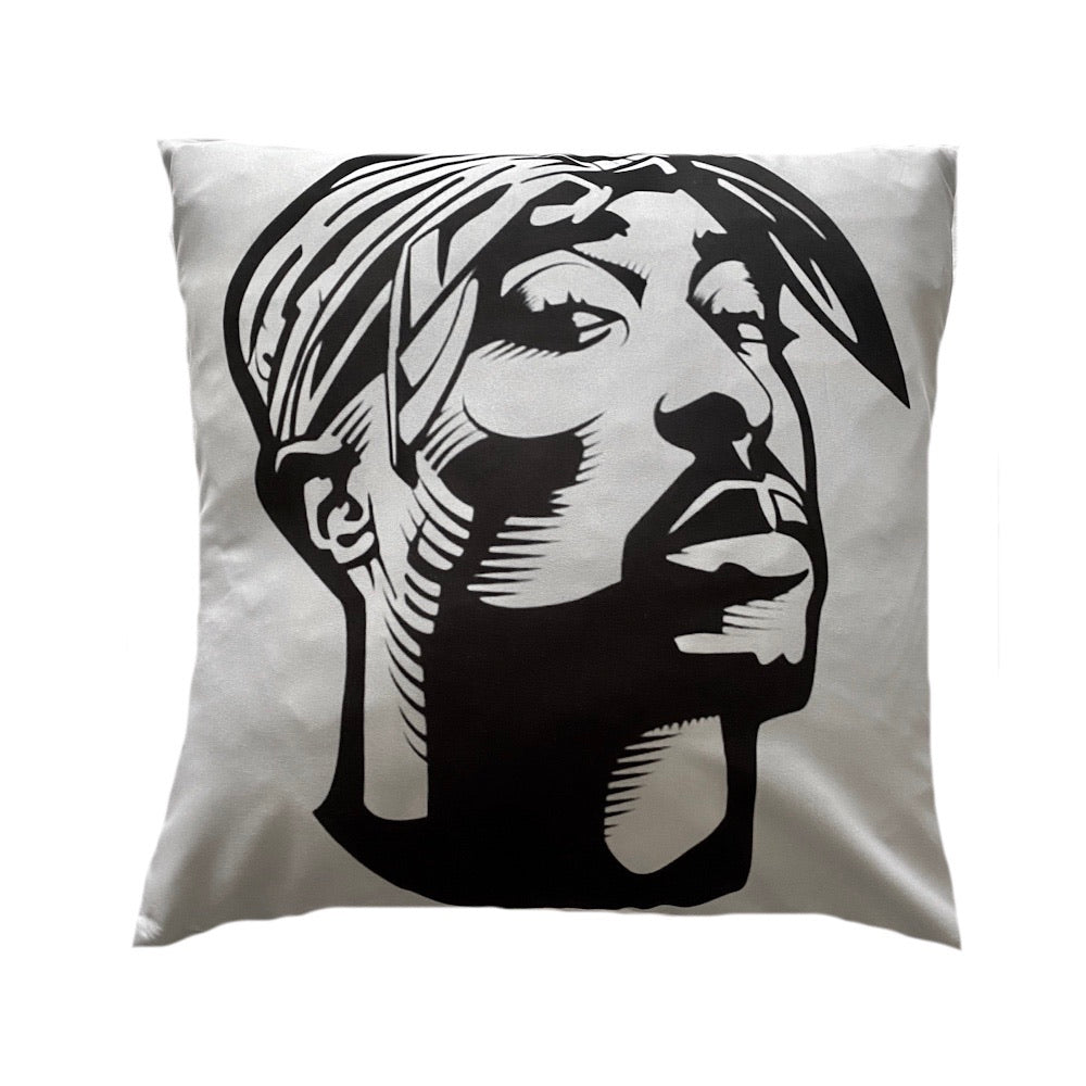 Tupac B&W - Cushion Cover