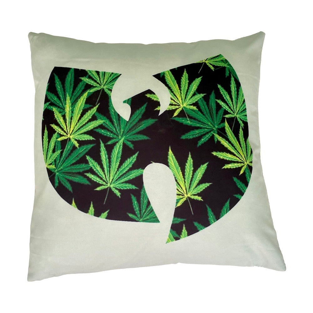 Wu Weed leaf - Cushion Cover