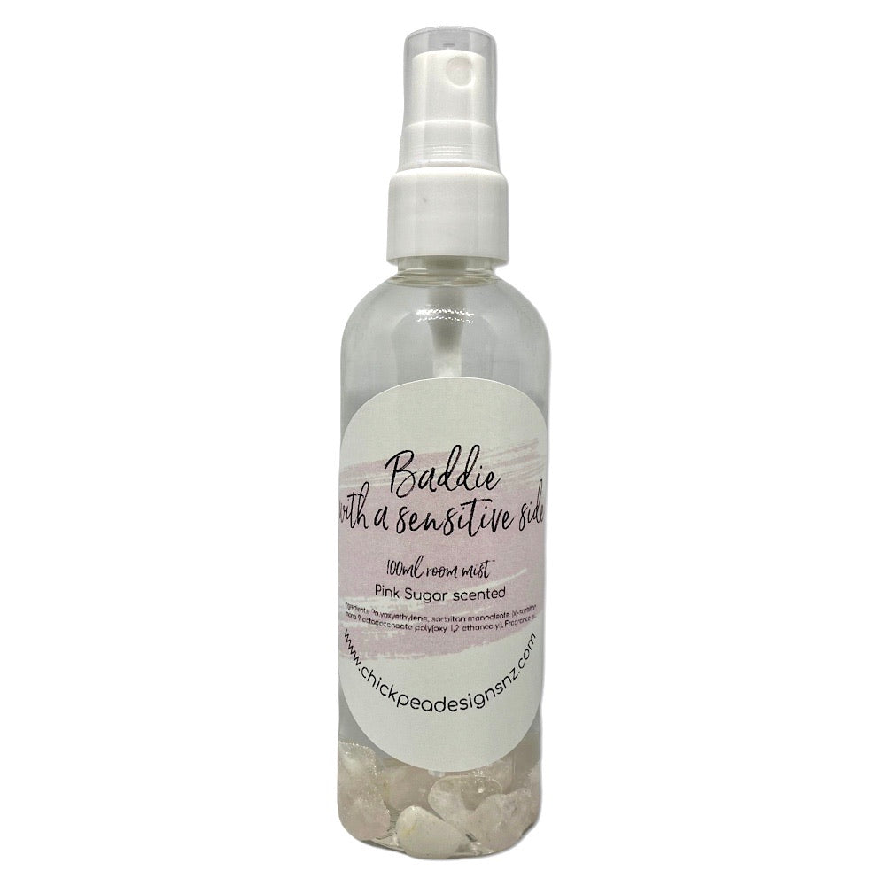 Baddie with a sensitive side - Pink Sugar Scented Room Mist
