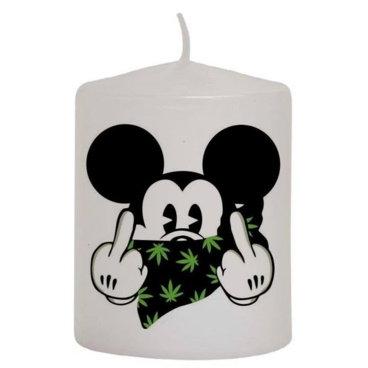 Mickey Mouse (Weed Bandana) Candle