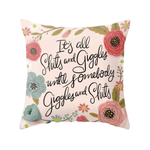 Shits & Giggles - Cushion Cover