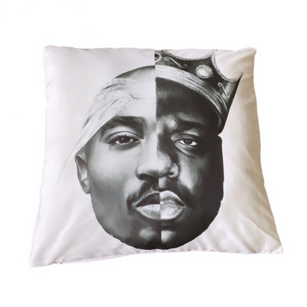 2Pac & Biggie - Cushion Cover