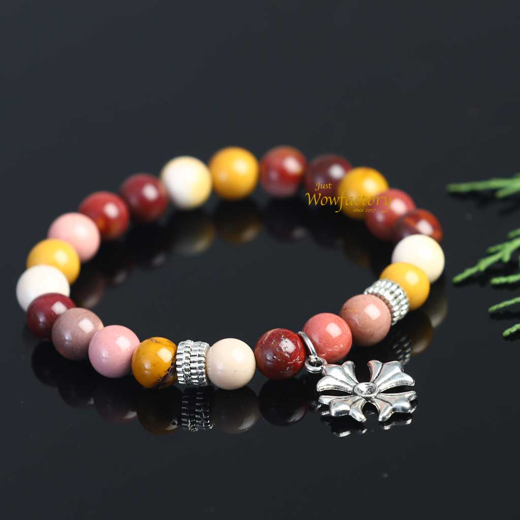 Exclusive Natural Mookaite Bracelet
