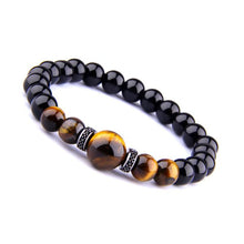 "Load image into Gallery viewer, JWF™ "" Self Awakening ""Tiger Eye Black Stone Bracelet For Health"