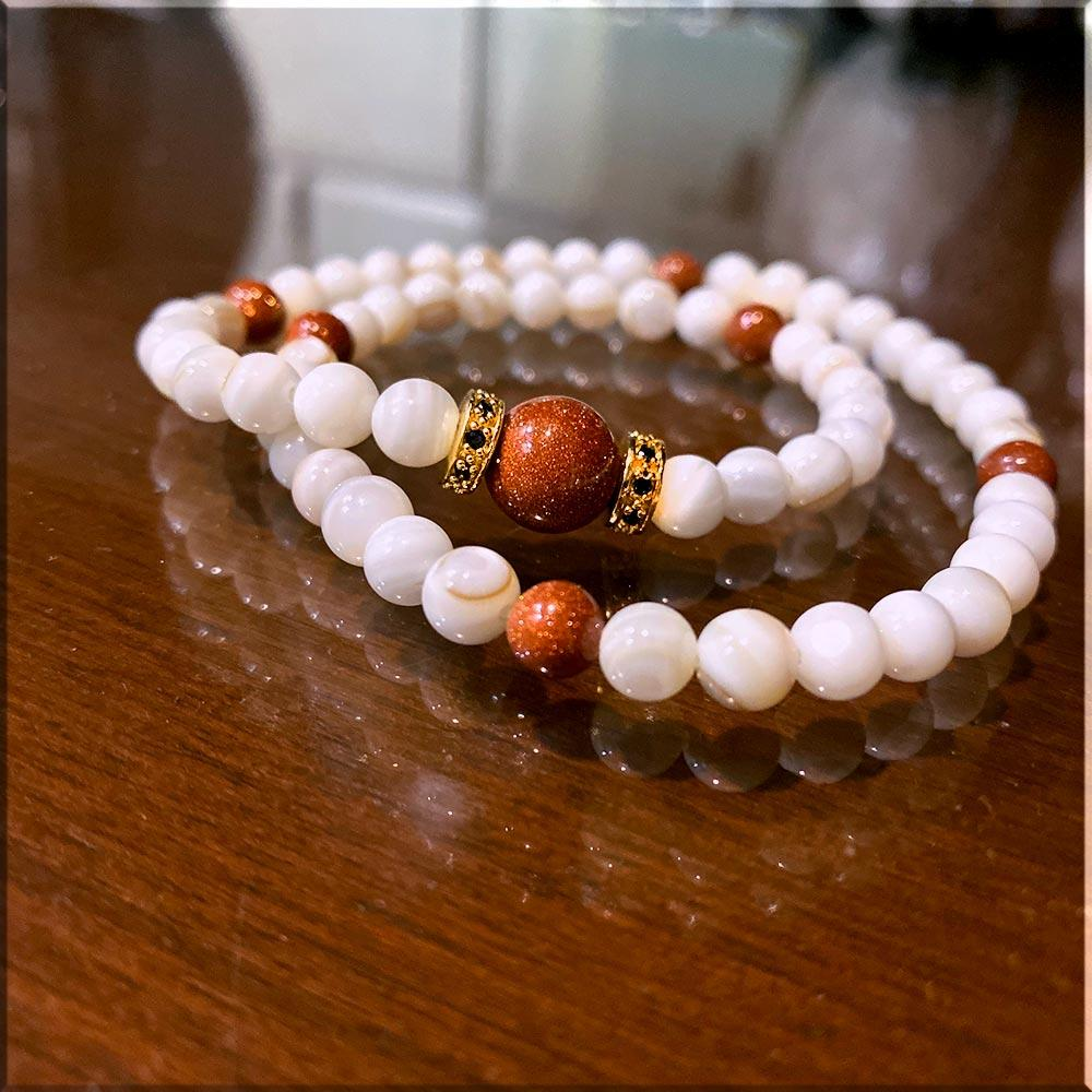 JWF ™ 100% Exclusive Sun Stone Bracelet For Inner Peace & Success