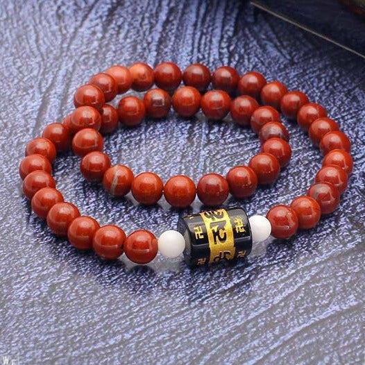 JWF ™ Exclusive Buddhist Jasper Health Bracelet