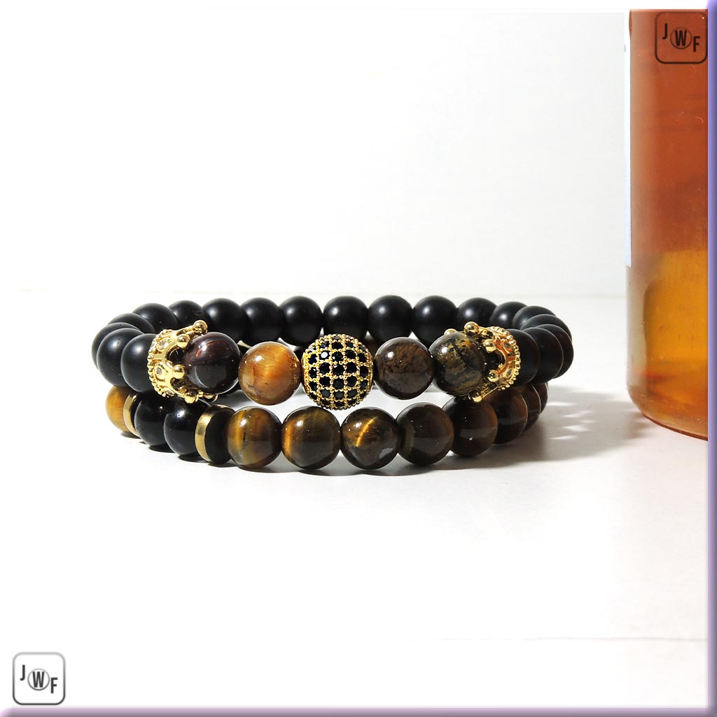 The Tiger Eye Strong Mind & Confidence Energy Bracelet