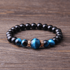 JWF™ 100% Natural Blue Tiger Eye Bracelet For Peace , Health & Good Decision Making