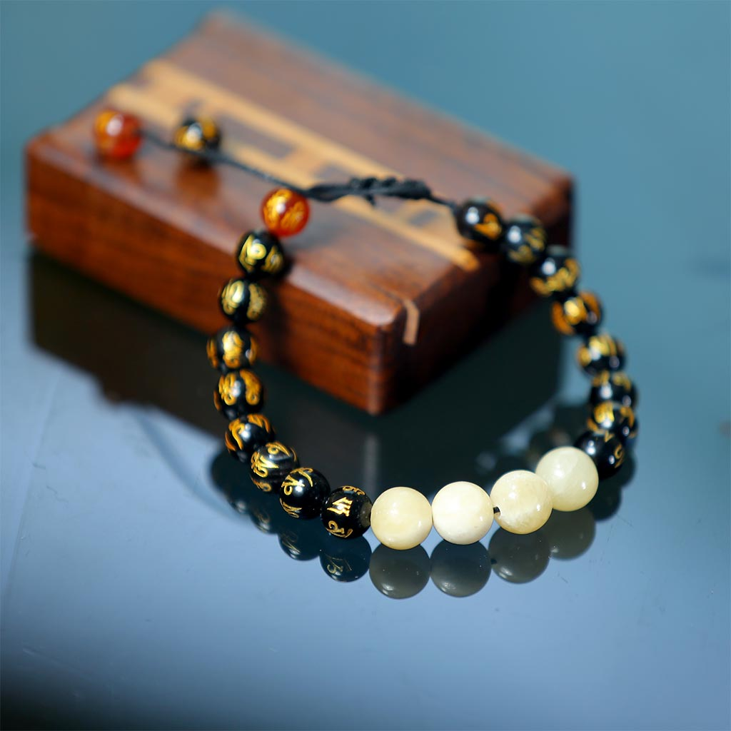 "JWF™ ""Awaken Your Spiritual Side"" Energised Calcite Stone Bracelet"