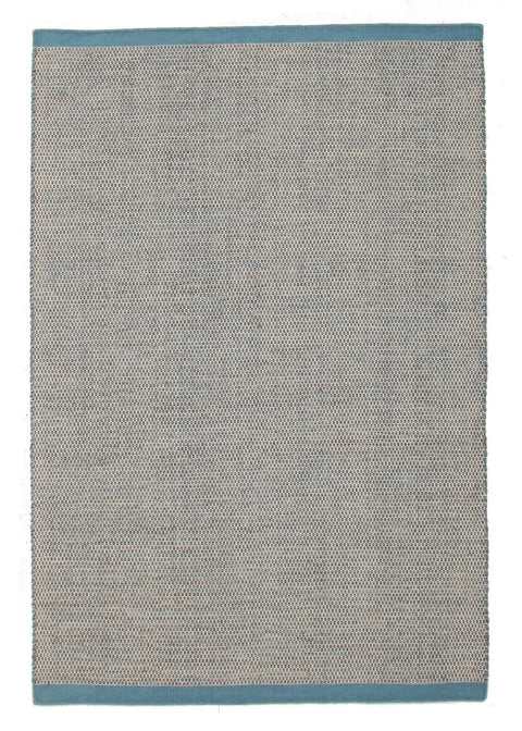Toledo Light Blue Woven Wool Rug