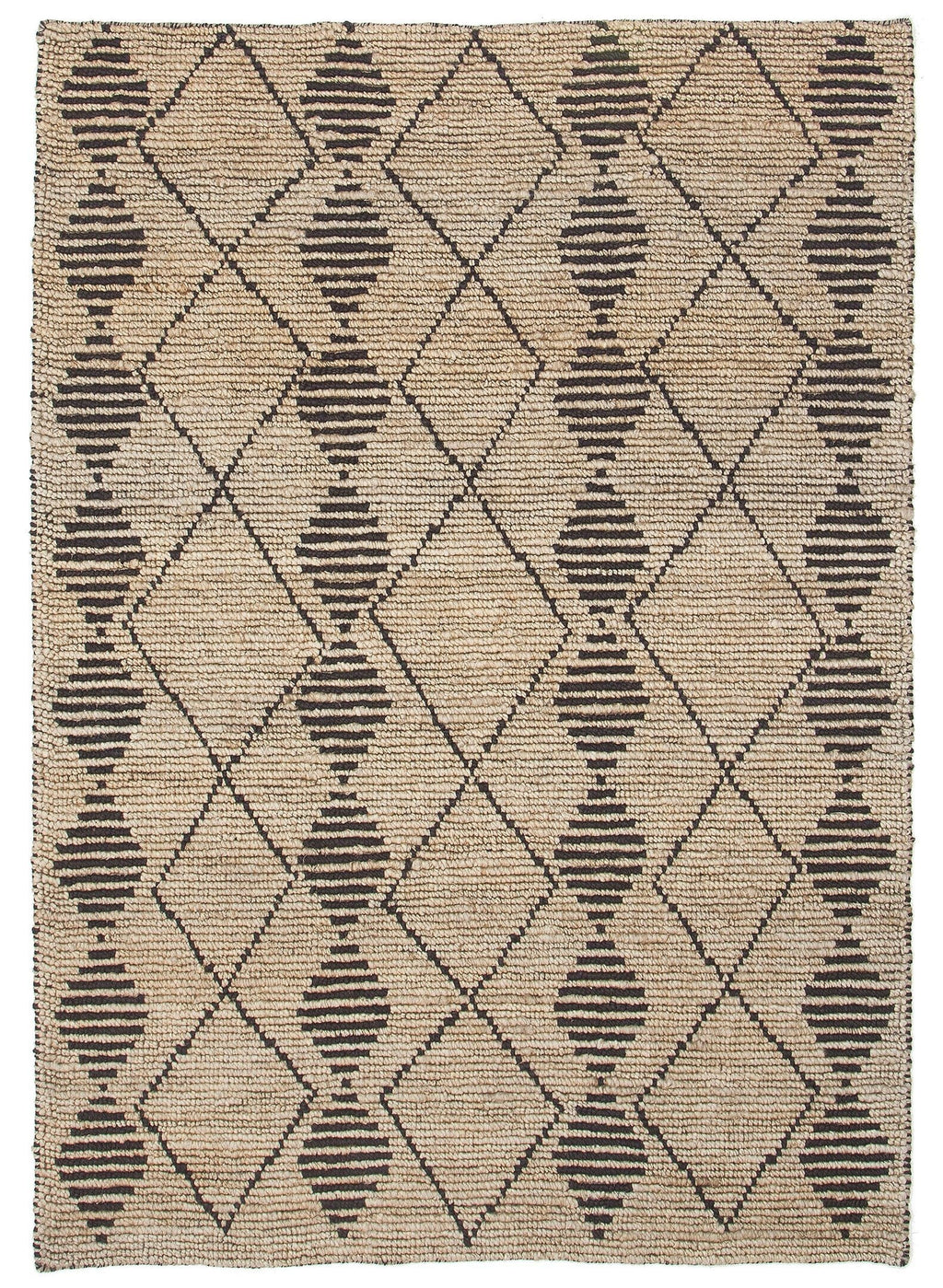 Kisumu Tribal Jute Floor Rug