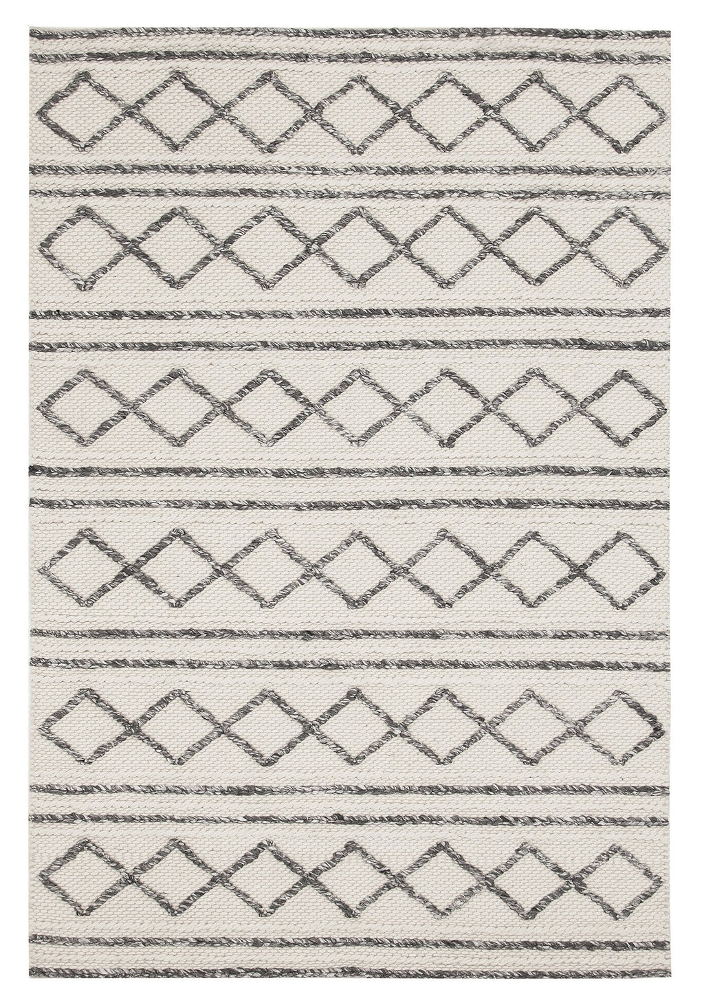 Natchez Textured Tribal Wool & Viscose Rug