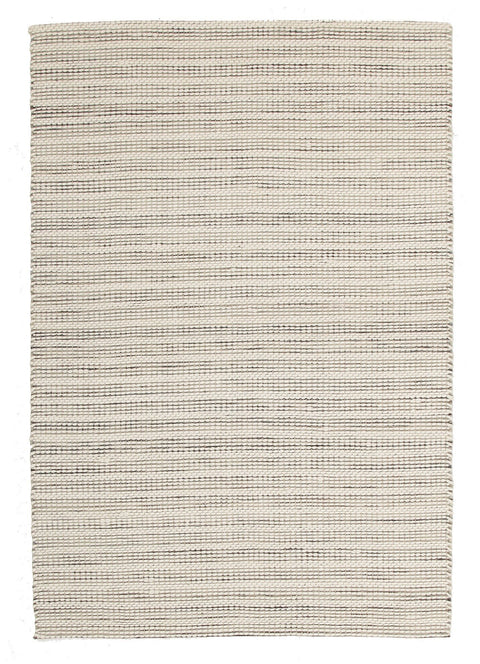 Glencoe Cream & Grey Woven Wool Rug