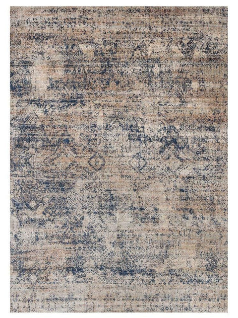Tobolsk Damask Blue & Beige Transitional Rug